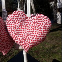 Sachet de lavande coeur