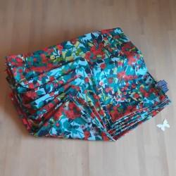 Ensemble 6 Sets de table coton enduit bi-face 35 x 45cm