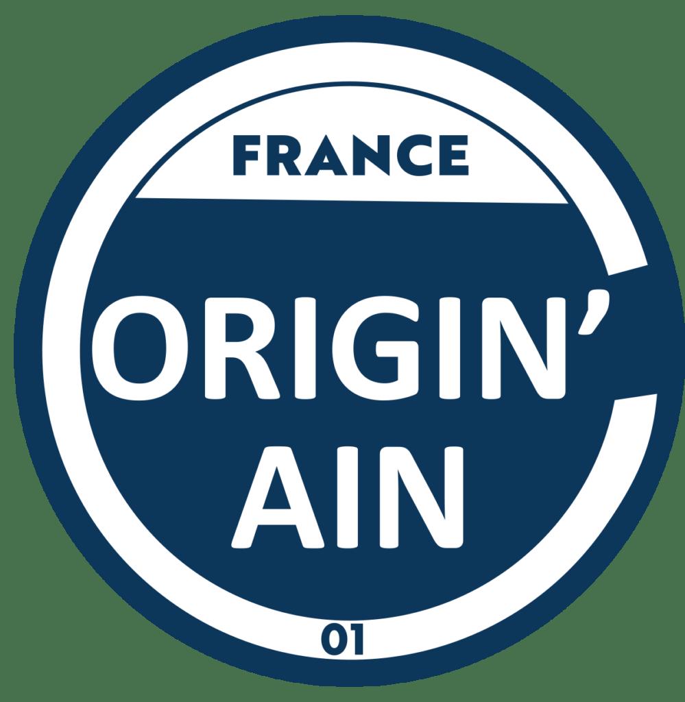 logo Origin'Ain label des entreprises de l'Ain